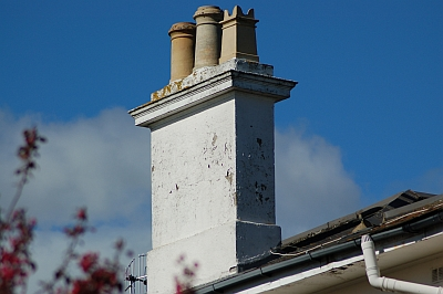 Crawley chimney stack by Gary the chimney sweep